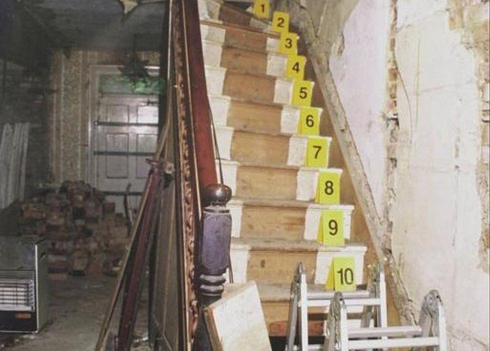Stairs in Bleak House