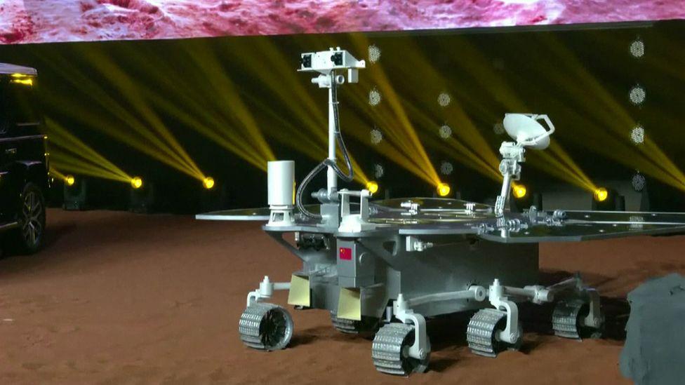 Model of Tianwen-1