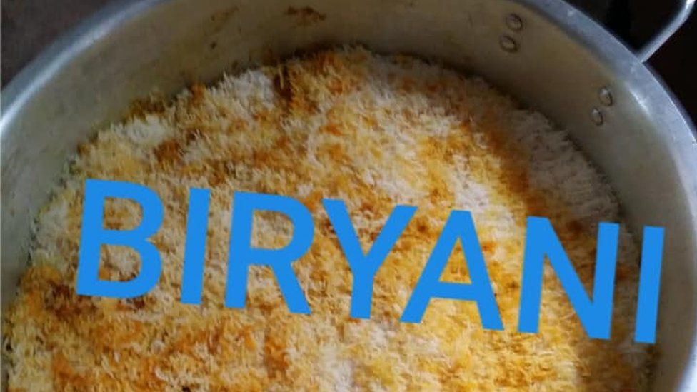 A Biryani curry on Facebook Marketplace