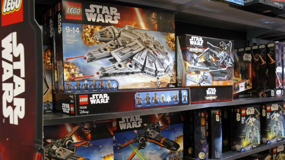 Star Wars Lego toys