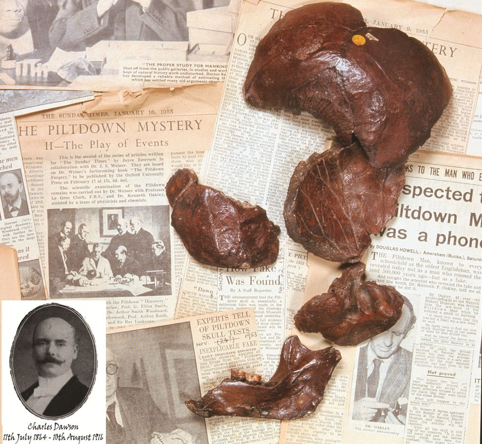 Piltdown bone samples
