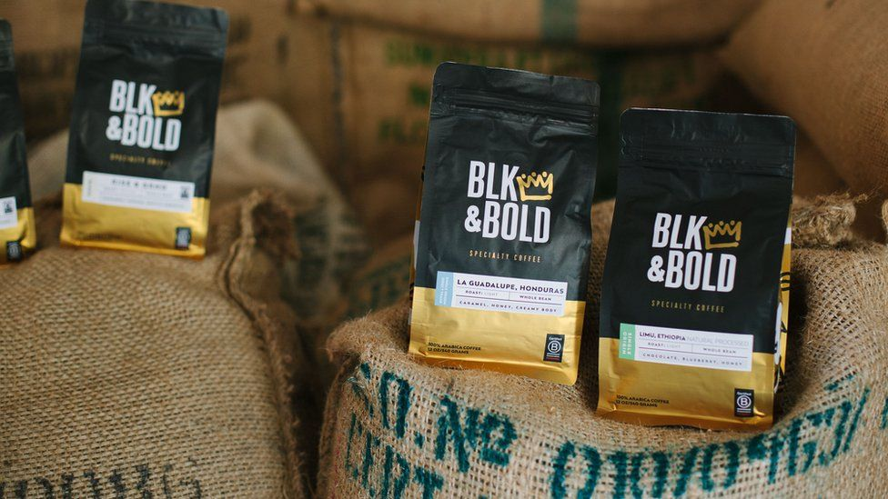 Blk & Bold coffee