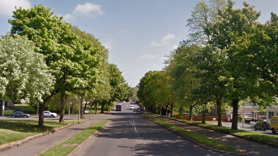 Brediland Road in Paisley