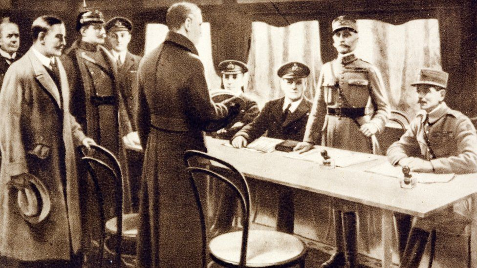 Signing of the German Armistice