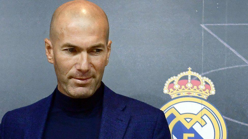 زين الدين زيدان مديراً فنيا لفريق ريال مدريد