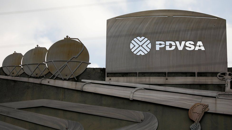 Edificio de PDVSA, la petrolera estatal venezolana.