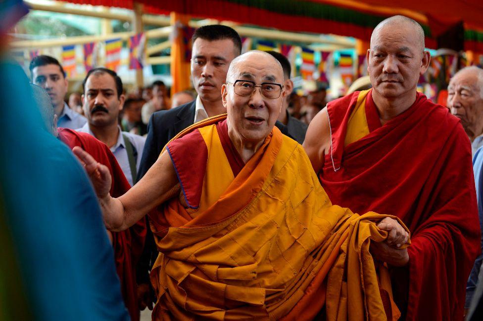 The Dalai Lama in 2019