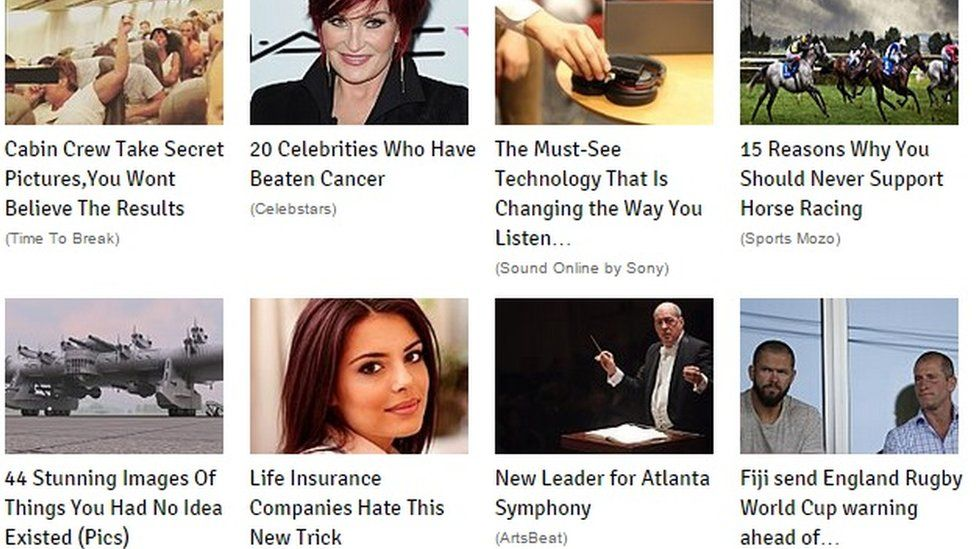 Promoted article links