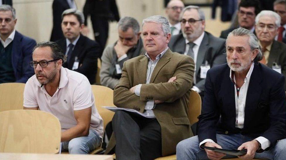 Gurtel case - defendants in court, Jan 2018
