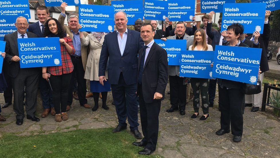 Welsh Conservative campaign launch