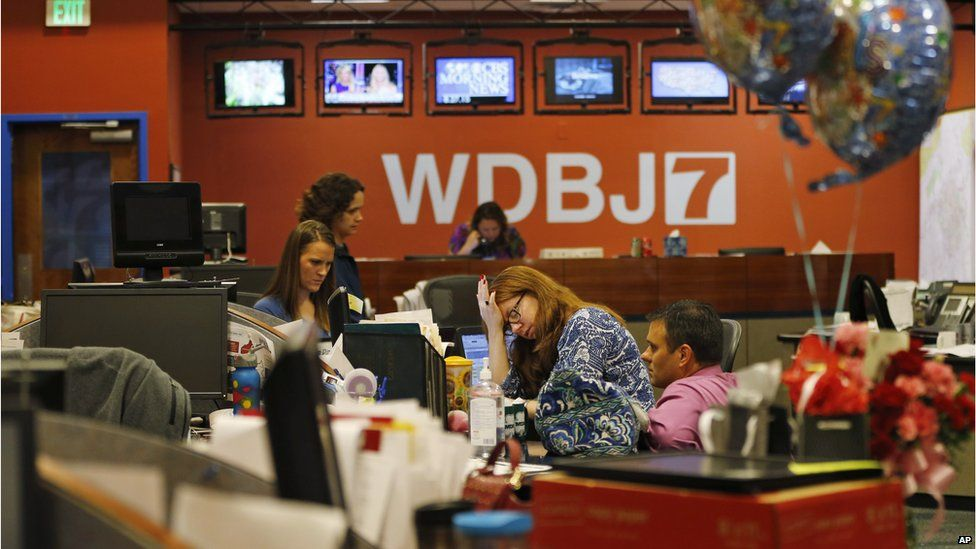 """WDBJ journalists are """"soldiering on"""" after the attacks"""