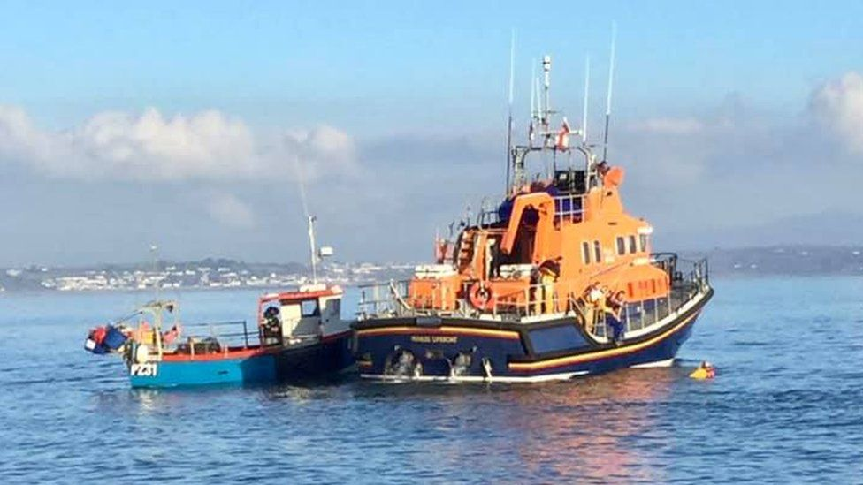 Penlee Lifeboat rescue operation