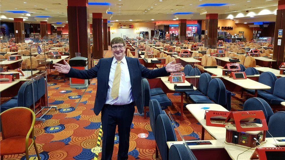 Patrick Duffy, managing director at Palace Bingo Great Yarmouth