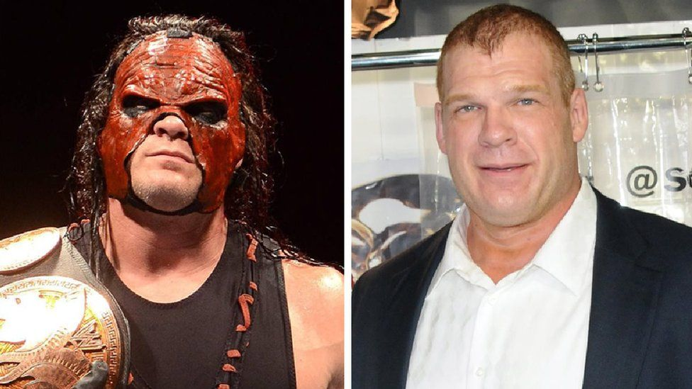 Glenn Jacobs in character, and wearing a suit