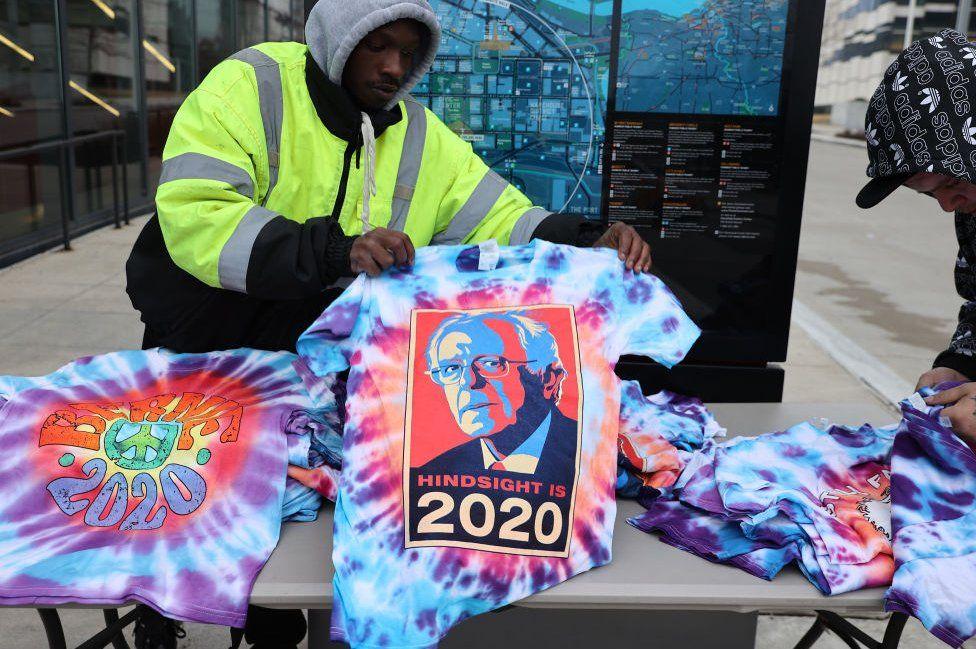 Bernie merchandise