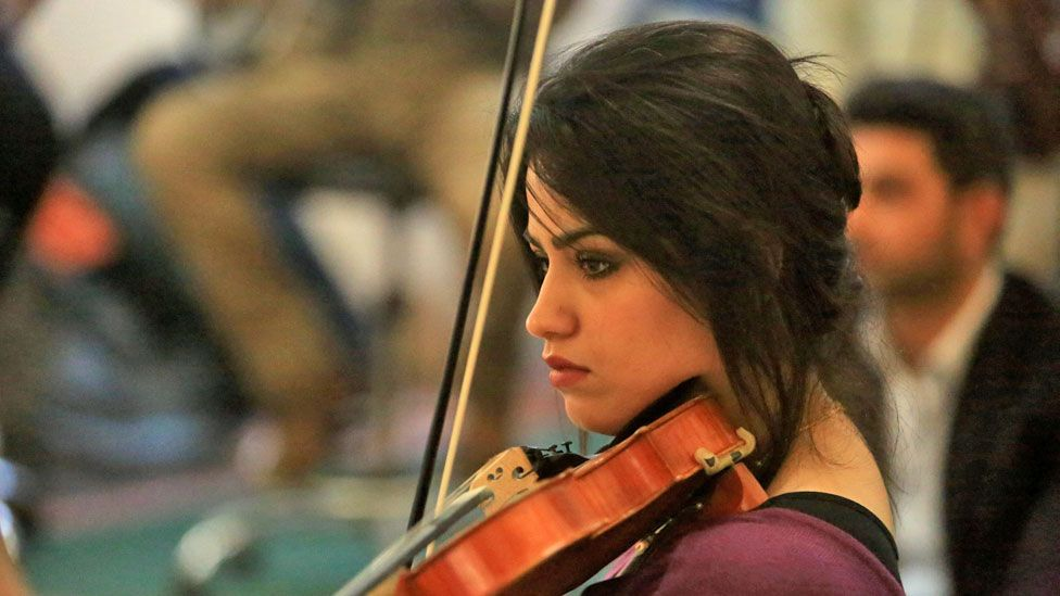 Peace through arts concert in Mosul