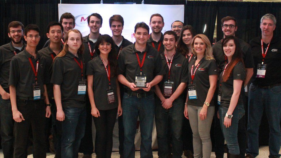 The team from MIT