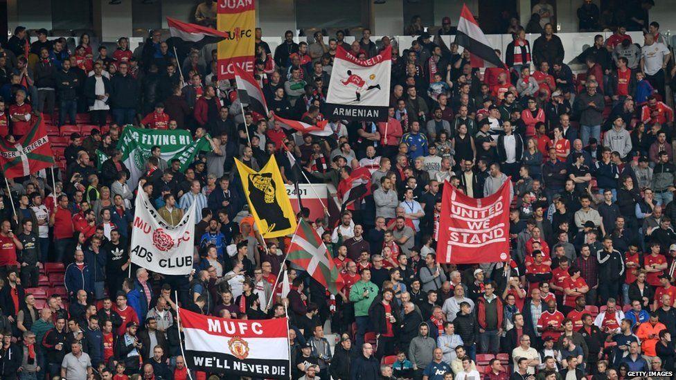 Old Trafford crowd