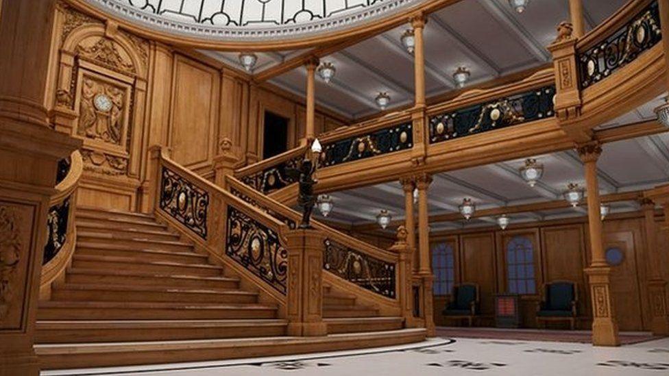 Titanic Ii Work Resumes On Blue Star Line Build Bbc News