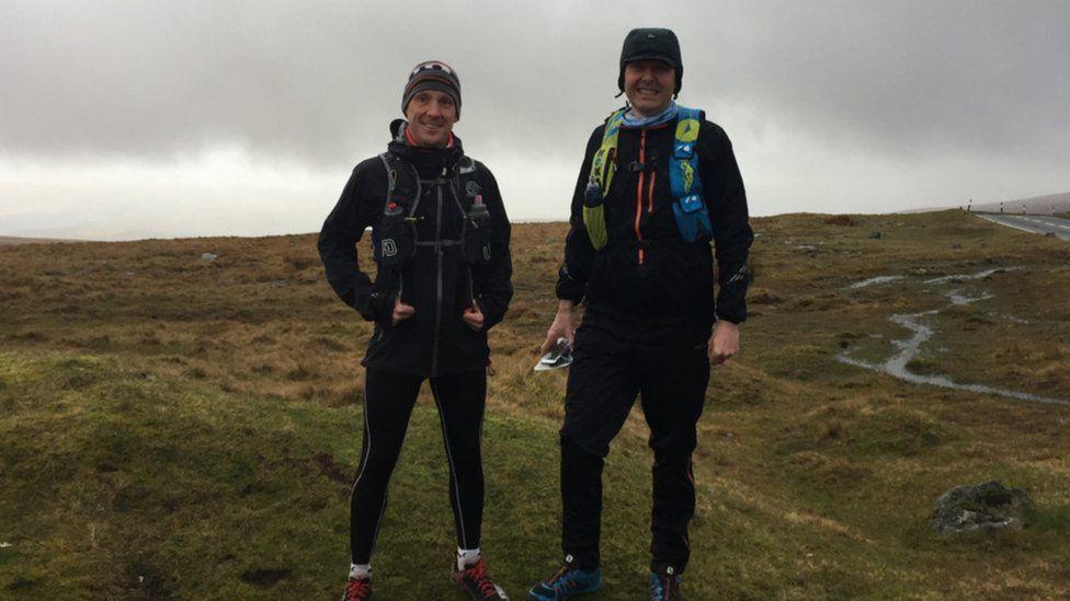 Martyn Driscoll (l) and Alan Stone (r)