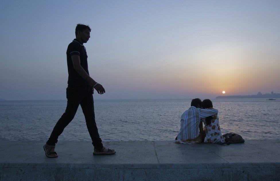 Mumbai couple - file picture