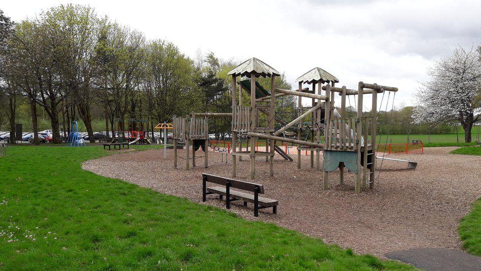 Playground at Heath Park, Cardiff