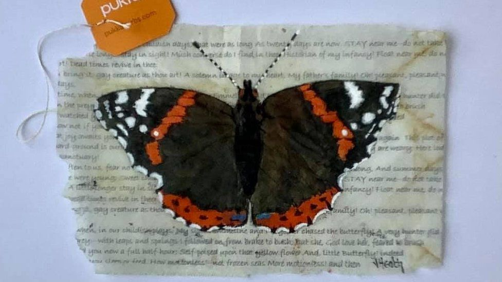 To a Butterfly by Jan Heath