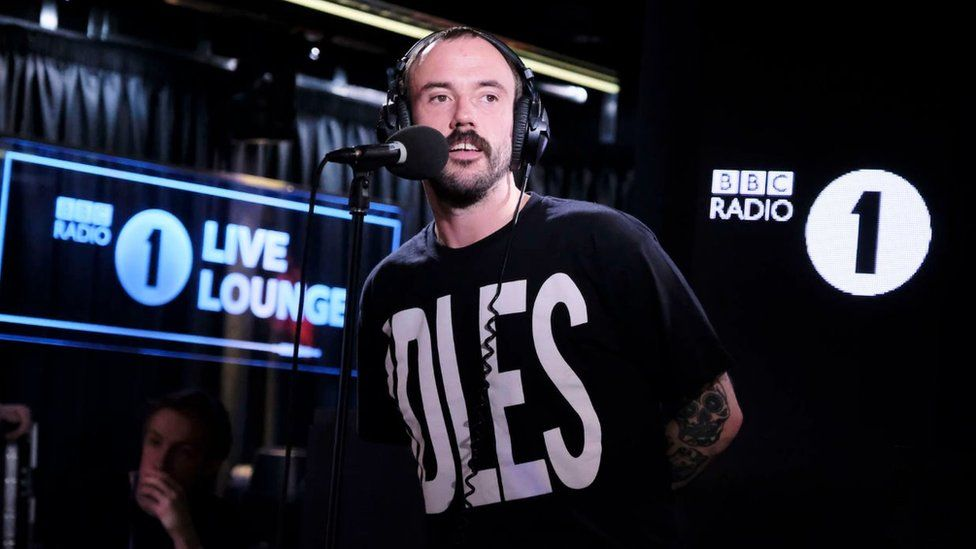 IDLES in the Live Lounge