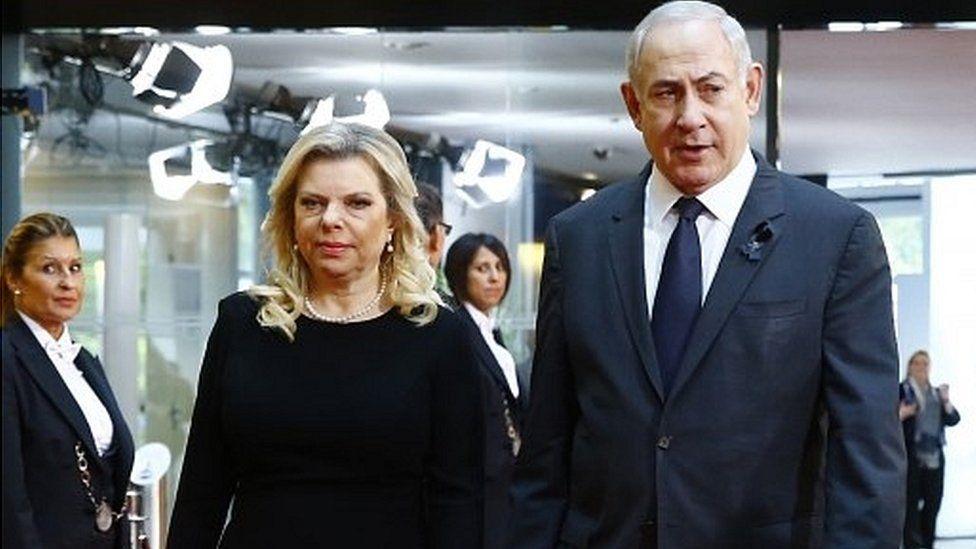 Sara and Benjamin Netanyahu 01/07/17