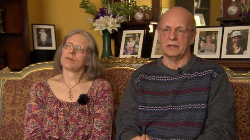 Margaret and Robert Abrahart