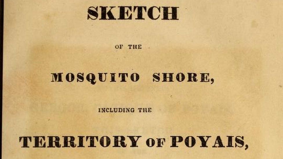 The Sketch of the Mosquito Shore including the Territory of Poyais by Thomas Strangeways