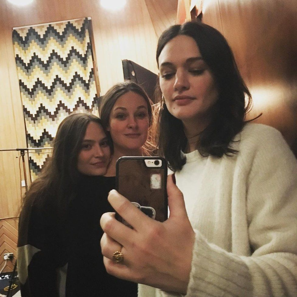 The Staves in the studio