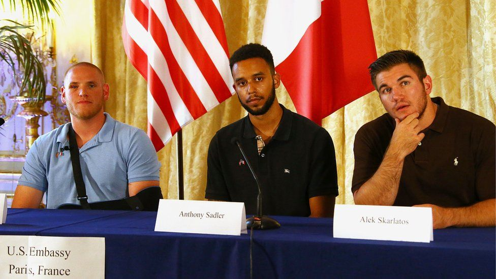 The three men who stopped a terrorist attack on a train in France in August