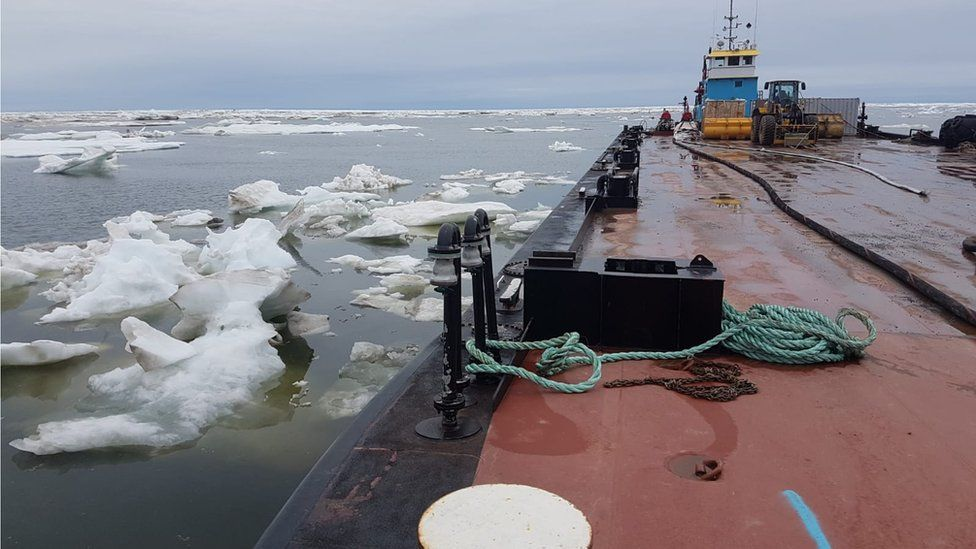 Is the Arctic set to become a main shipping route? - BBC News