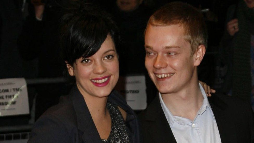 Lily and Alfie Allen in 2007