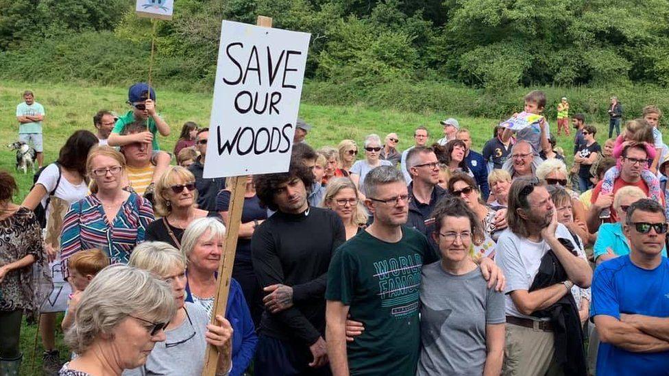 Save Dinas Powys Woods