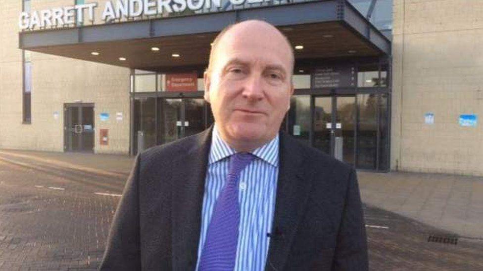 Chief executive Nick Hulme
