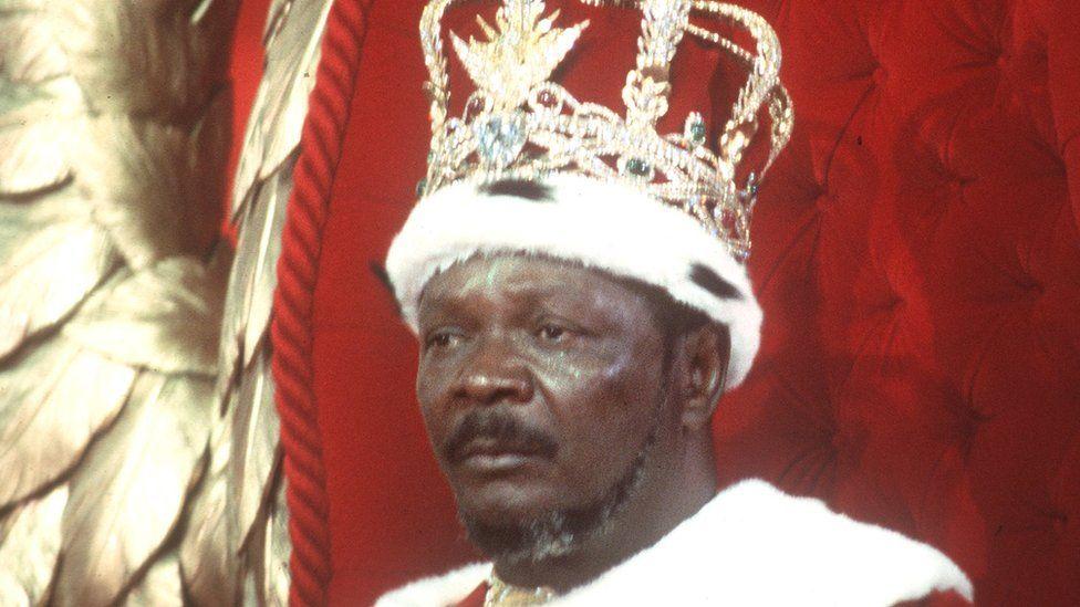 Central African Republic's former leader Emperor Jean-Bedel Bokassa