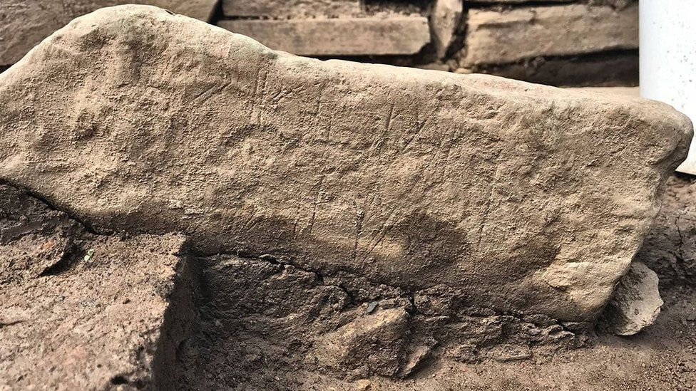 'Stunning' decorated Neolithic stone discovered in Orkney