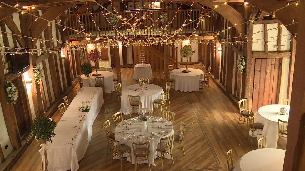 The Tudor Barn wedding venue