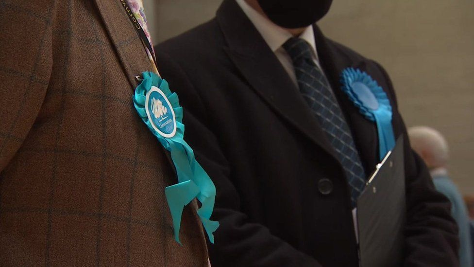 Conservatives at Cornwall count