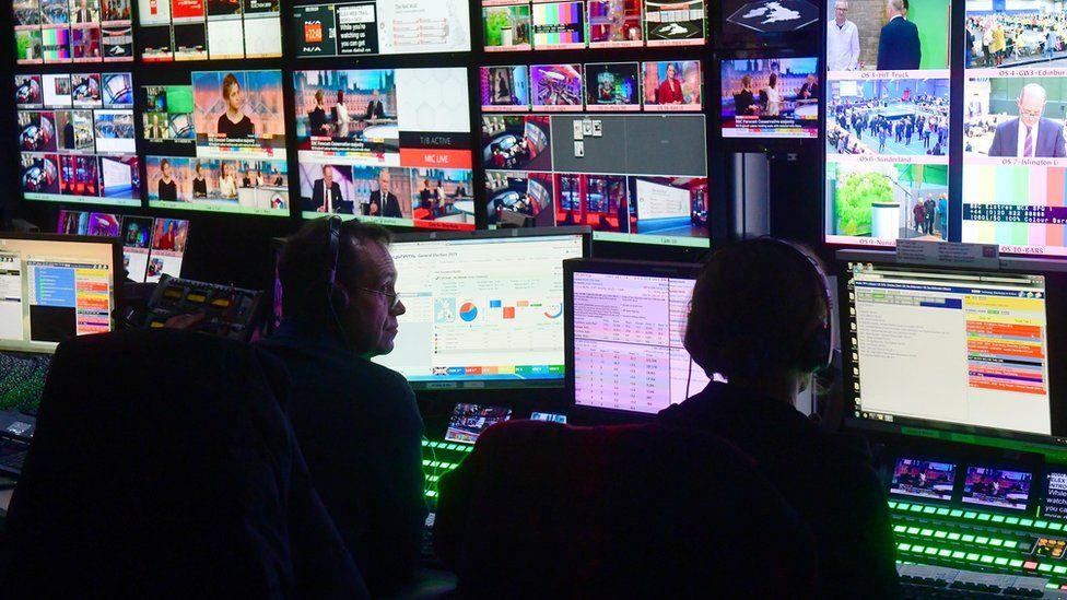 BBC Newsroom gallery
