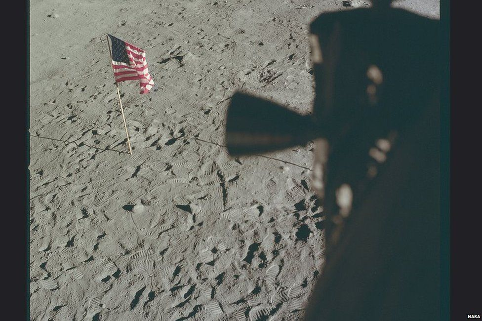 apollo 11 having left its mark