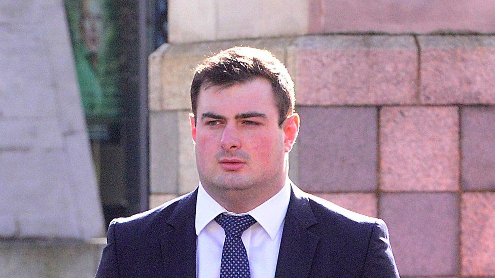 Rory Harrison at Belfast Crown Court