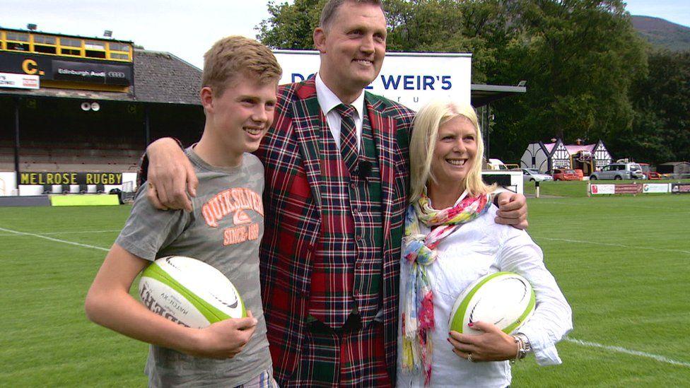 Ben, Doddie and Kathy