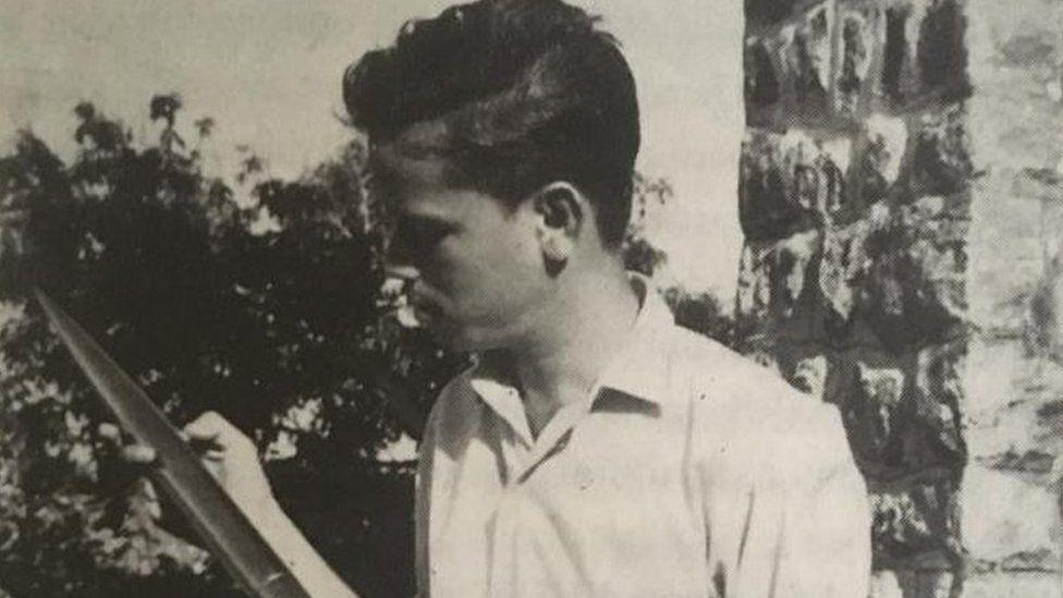 Nambi Narayanan in 1967
