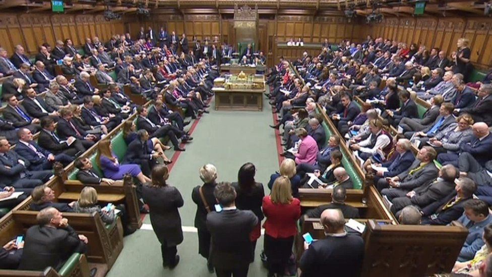 Lady Sylvia Hermon speaking in parliament