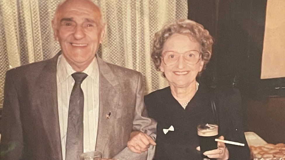 Doris Hobday with husband Raymond
