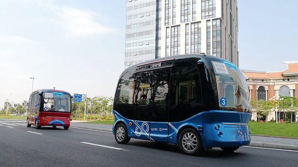 Baidu buses