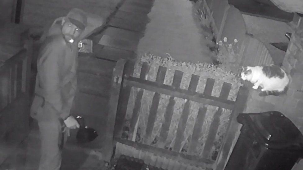 Still image of man from the CCTV